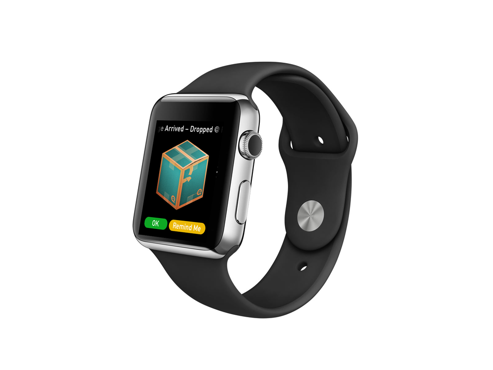 Watch app package arrive.png