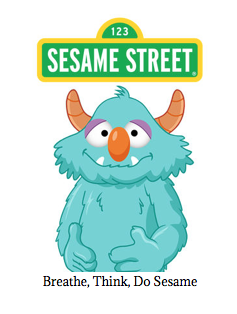 Breathe, Think, Do with Sesame is intended for parents and caregivers to use with their young children (ages 2-5) to help teach skills such as problem-solving, self-control, planning, and task persistence.