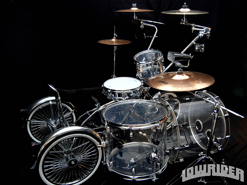 9807c8ba1711 Lowrider Crush Custom Drum Set