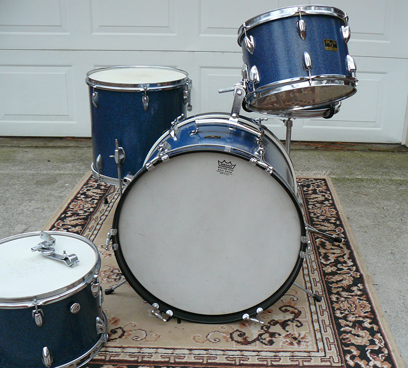 1960s zim gar stencil drum set not so modern drummer for 13 floor tom