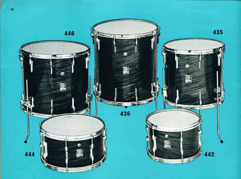 vintage drum heads not so modern drummer. Black Bedroom Furniture Sets. Home Design Ideas