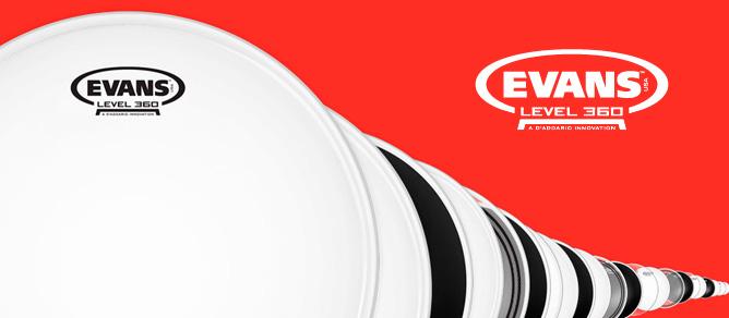 Evans 360 Drumheads