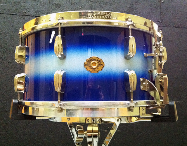 Joe's restored Radio King snare drum.