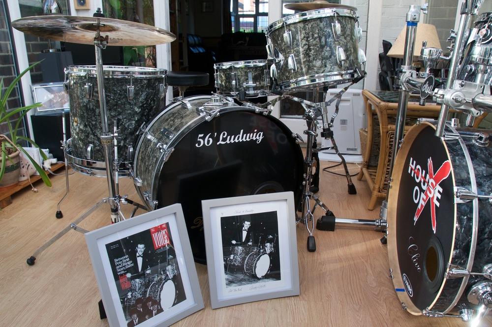 Andy White S Beatles Drum Set