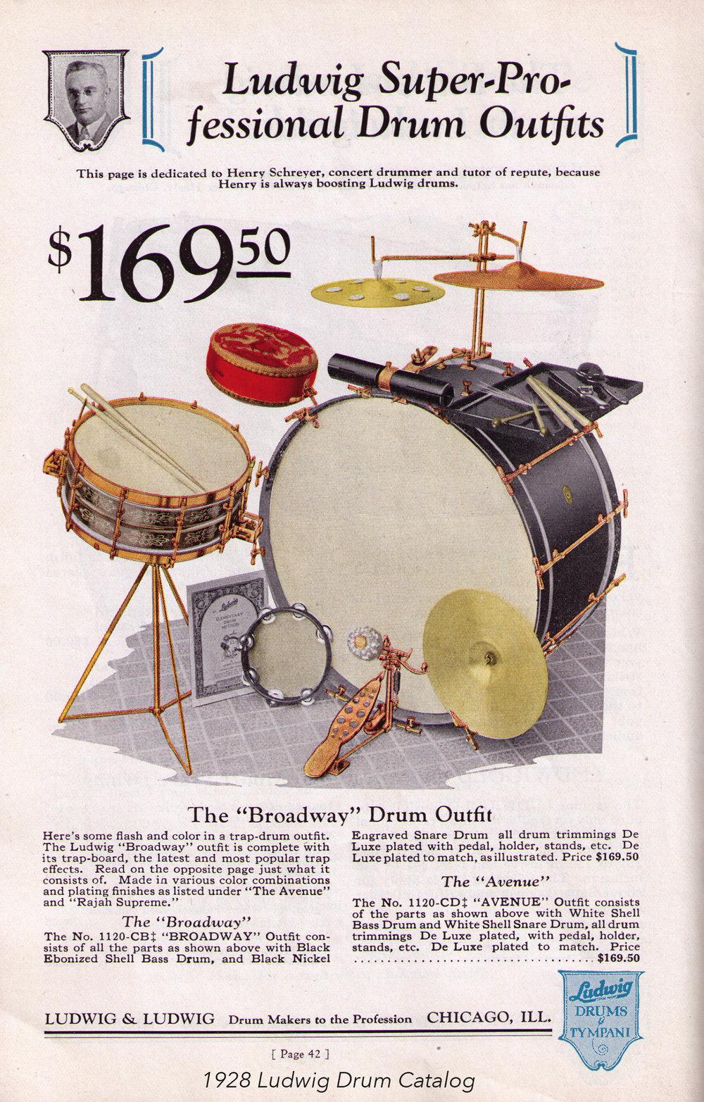 11. 1928 Ludwig Catalog Broadway.jpg