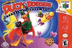 Box art of Duck Dodgers: Starring Daffy Duck, also known as Duck Dodgers and the 24th and a Half Century