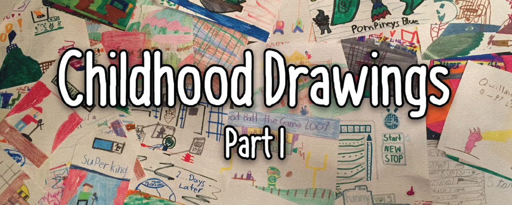 From Crayons to Code: Revisiting Childhood Drawings Part 1
