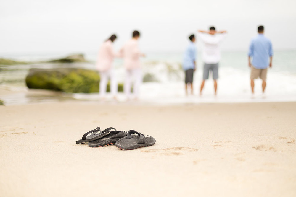 Family with Older Kids Playing at the Beach in Pastels Photography Session.jpg