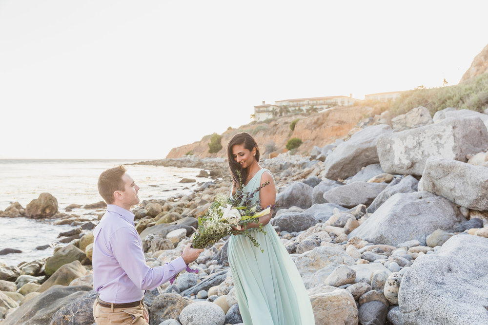 Best Colorful Beach Engagement with Flowers at Terranea.jpg