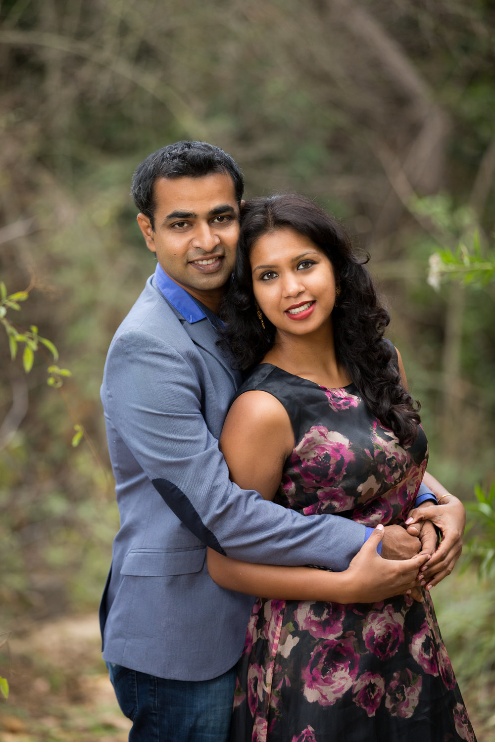 Romantic Couple in the Woods Engagement Photo Session.jpg