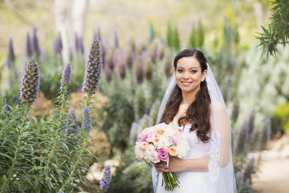 Pretty bride in the garden.jpg