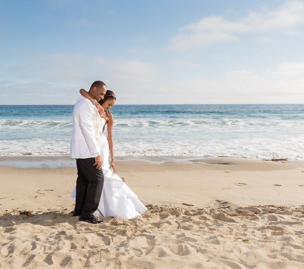 Malibu Beach Wedding Portrait.jpg