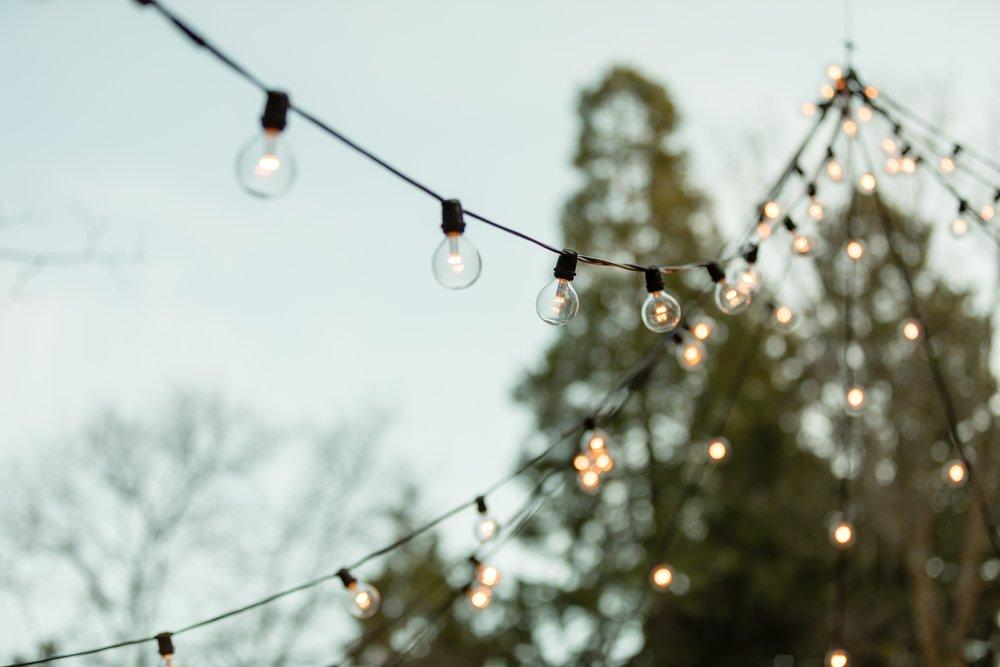 Photo of Stung lights uplighting for outdoor wedding.jpg