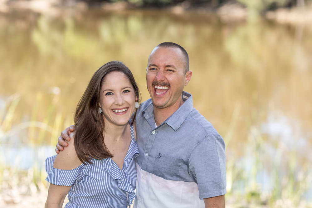 Photo of Bro and Sis laughing in front of HB lake.jpg