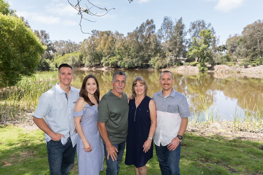 Adult Family Portrait in HB in front of lake.jpg