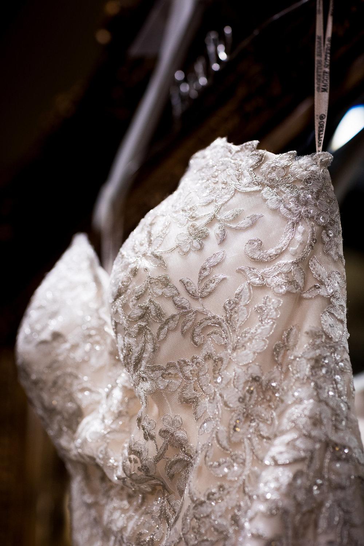 Romantic Photo of Hanging Maggie Sottero Wedding Dress.jpg