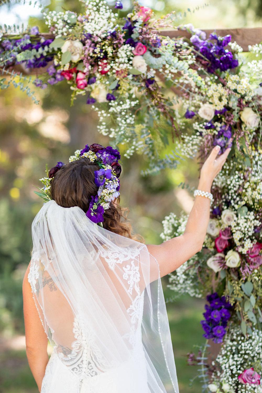 Prettiest Wedding Flowers Ceremony Arch LA Photographer.jpg