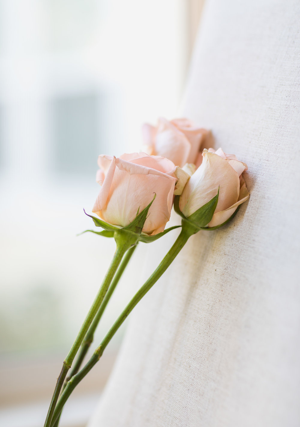 ! Pink Wedding Roses against white chair.jpg