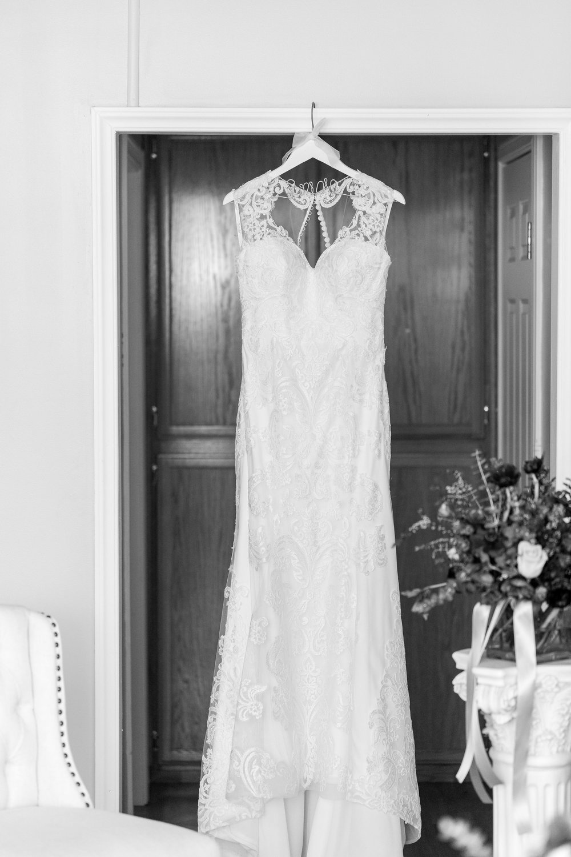 Hanging Wedding Dress Black and White.jpg