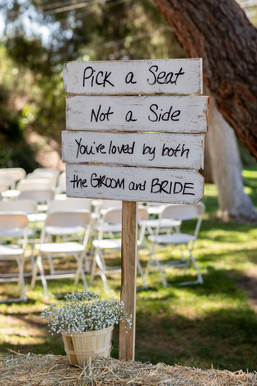 Pick a Seat Not a Side Wedding Signs.jpg