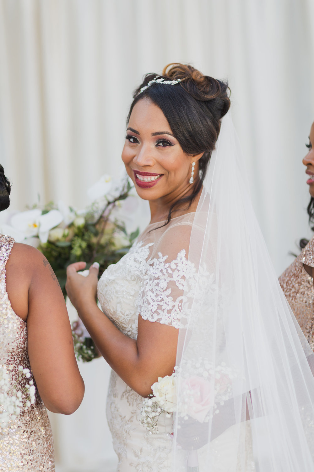 ! Beautiful Black Bride Wedding Photographer in Long Beach.jpg