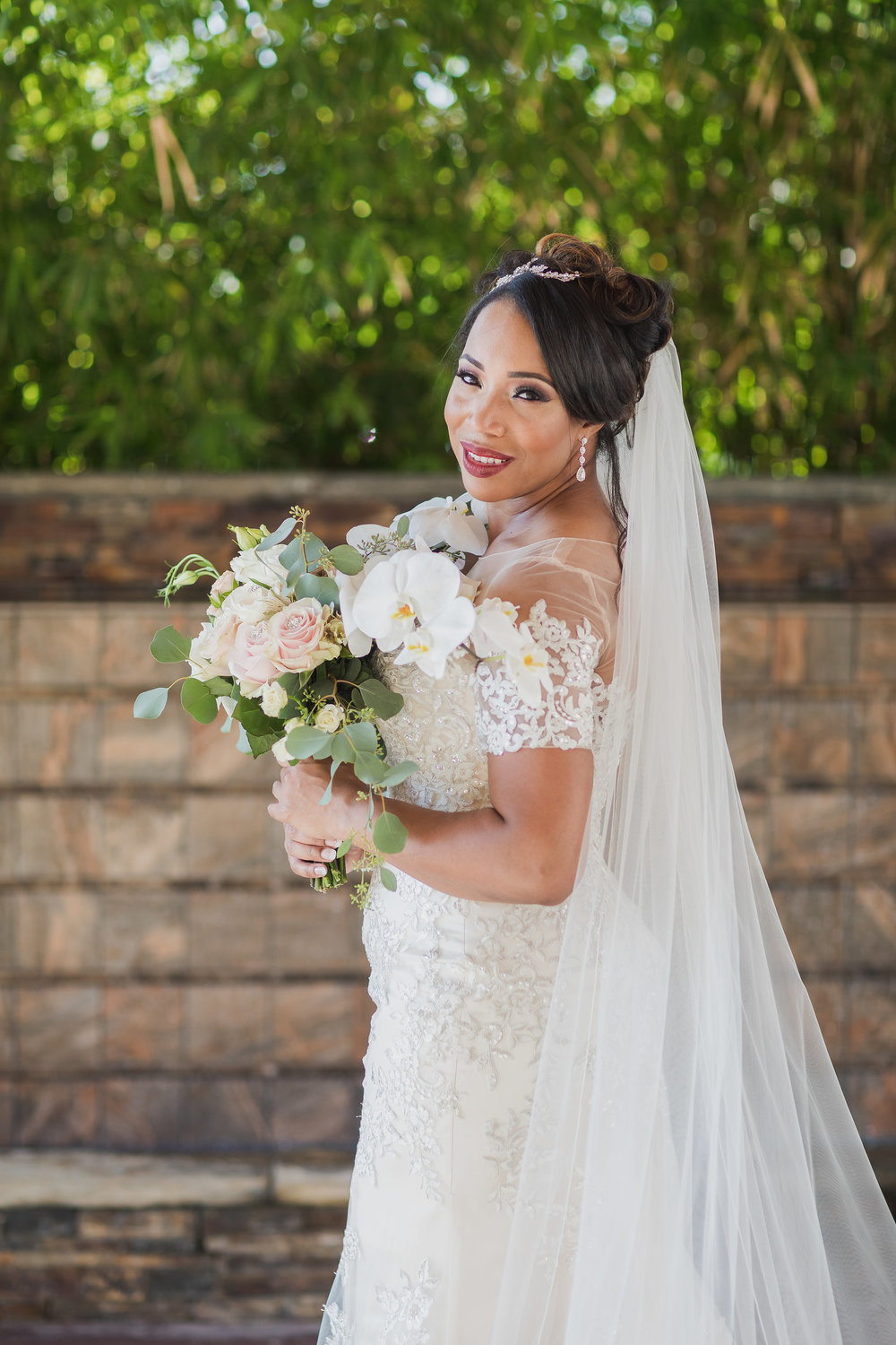 ! Gorgeous Bridal Portraits Inspo by Top LA Wedding Photographer on The Knot.jpg