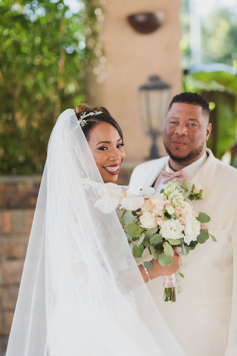 ! Beautiful Wedding Portraits with Long Veil Top Long Beach Photographer.jpg