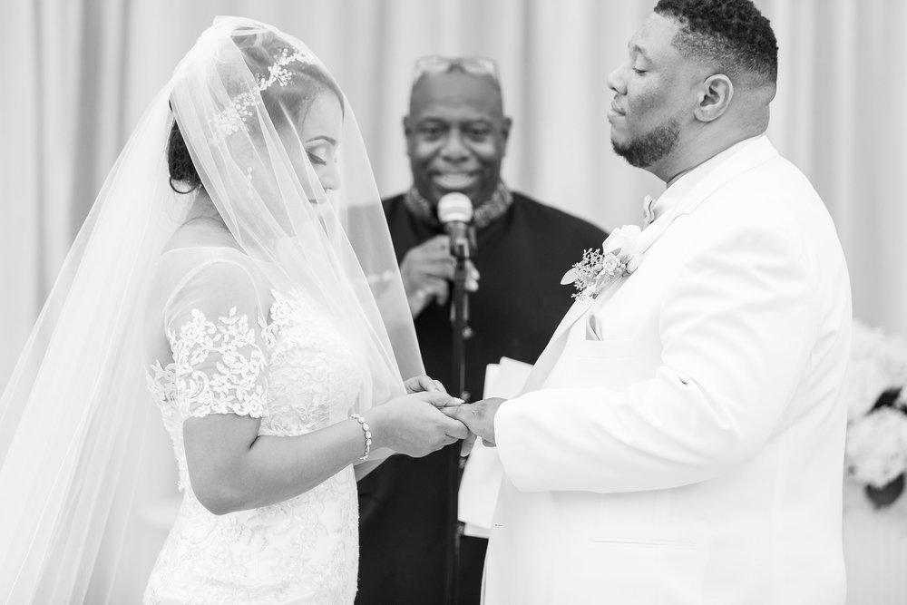 ! Long Beach Wedding Vows Black & White Photography.jpg