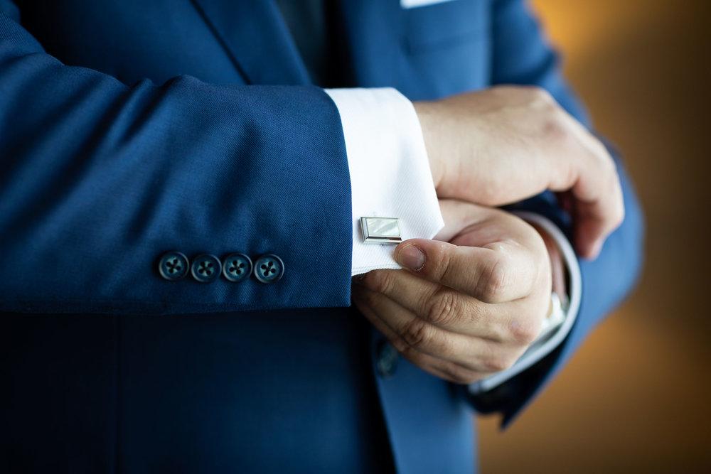 ! Groom Cuff Links Getting Ready Wedding Photography.jpg