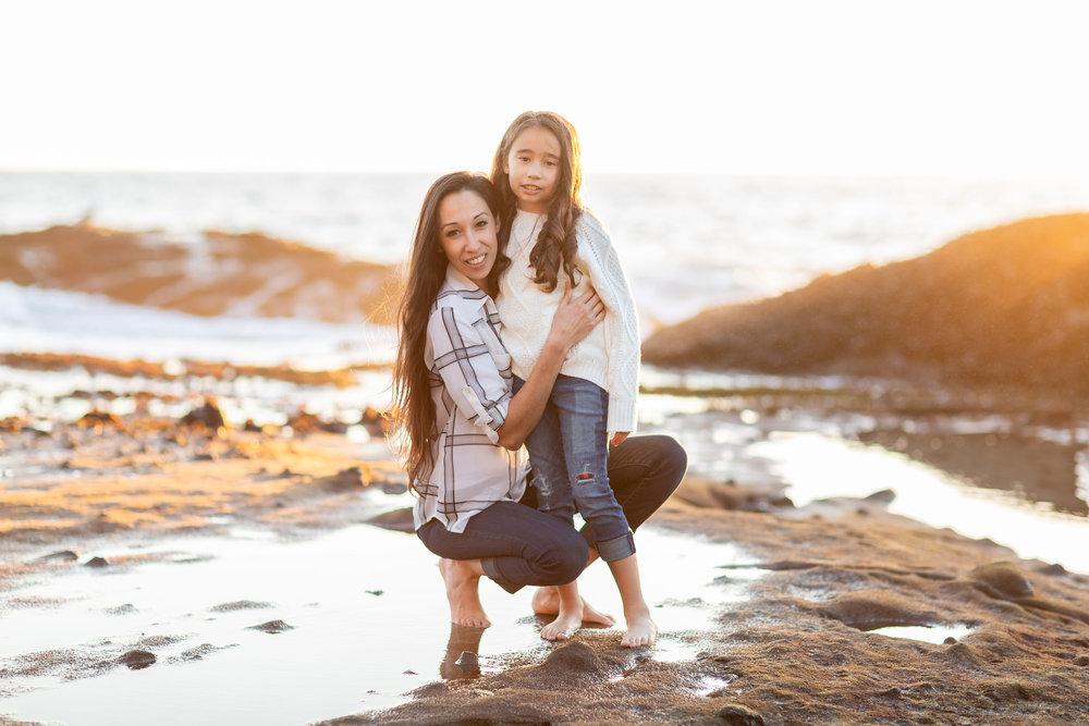 ! Best Mother Daughter OC Beach Sunset Photo.jpg