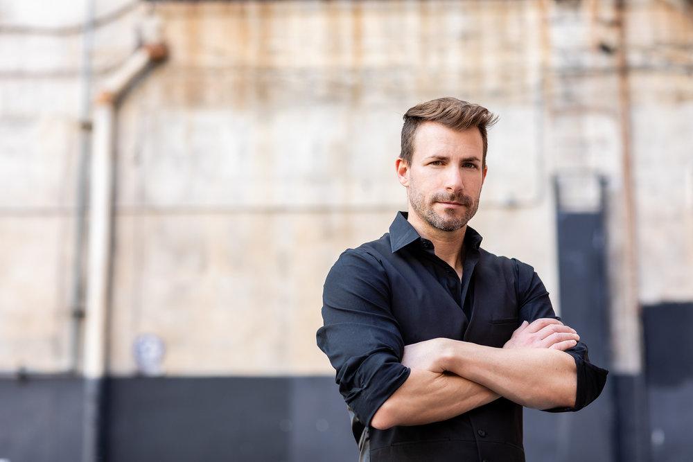Masculine Male Portrait in DTLA.jpg