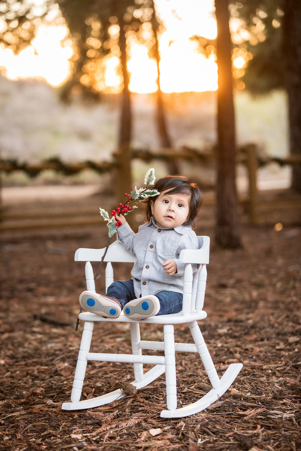 ! 9 month old baby boy holiday family photos in Brea CA.jpg