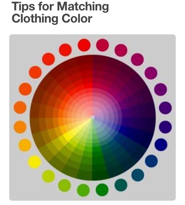 Pallete colours