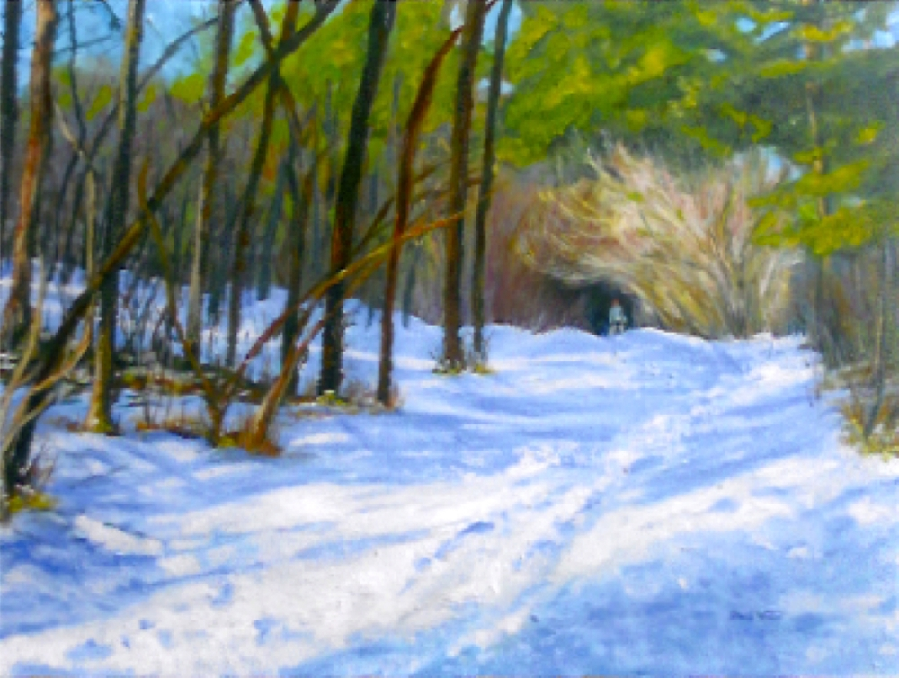 Winter Trudge - SOLD