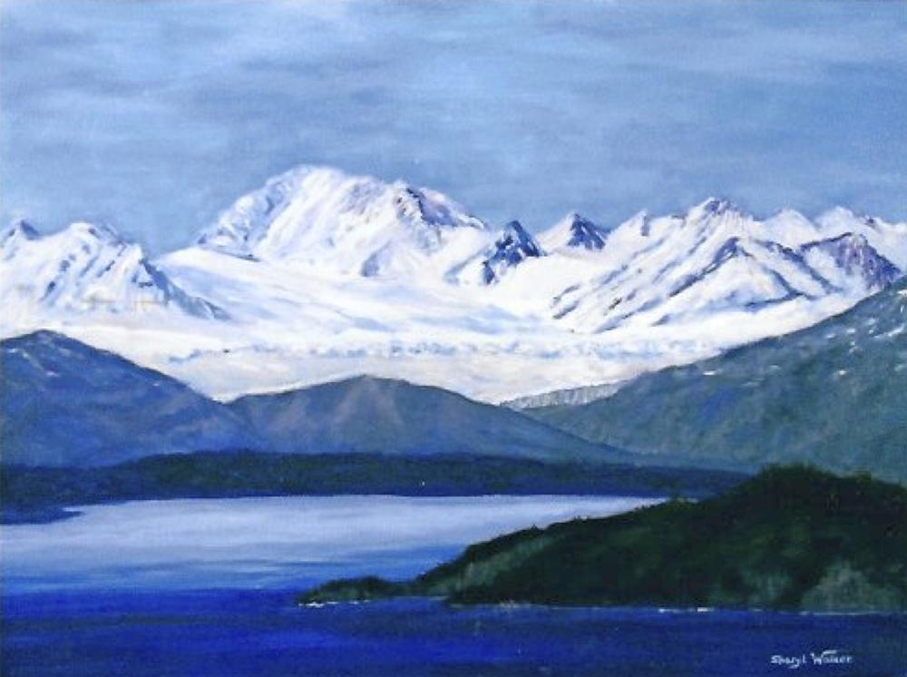 Glacial Lake - SOLD
