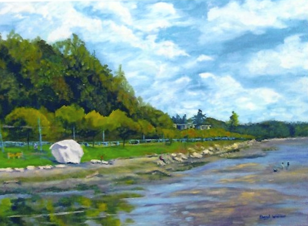 White Rock Day - SOLD
