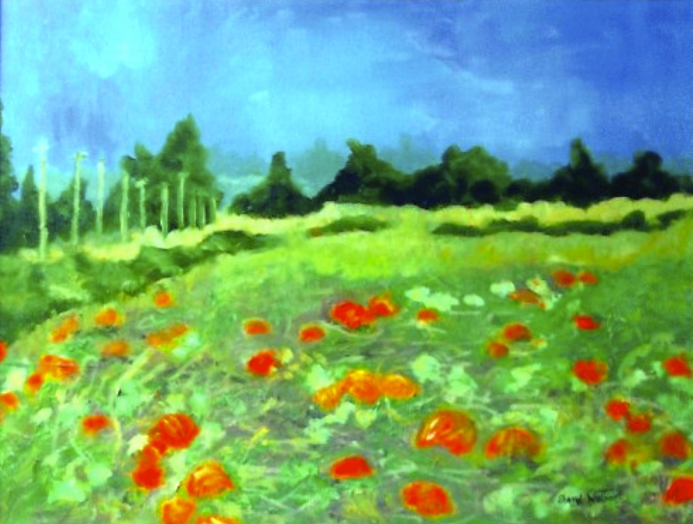 Pumpkin Fields - SOLD