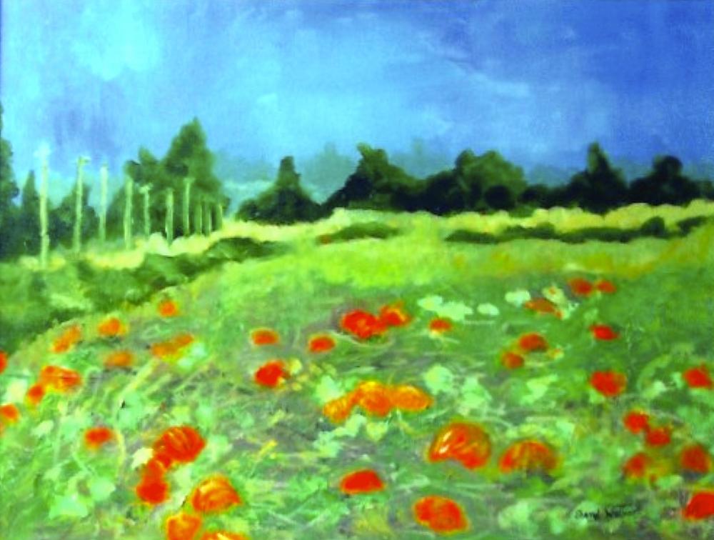 Pumpkin Fields - SOLD