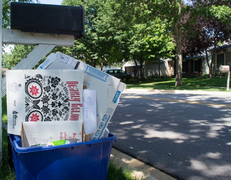 Downers Grove's annual Recycling Extravaganza collects the villages hard to recycle items, as well as ordinary recyclables.