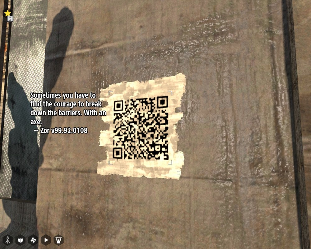QR codes by your friends who play the game.