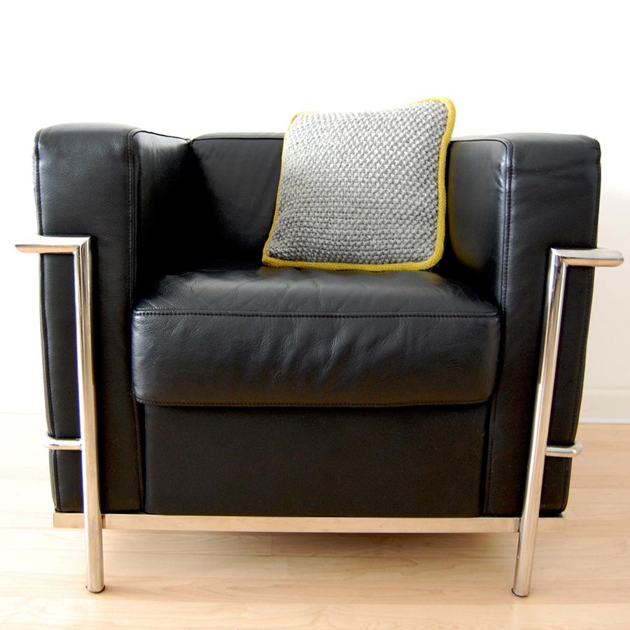 New knitting pattern: Moonstone Cushion for Rowan Yarns — jen geigley