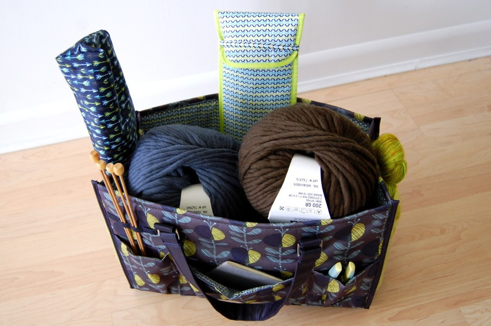 Organize your knitting supplies with Creative Options — jen geigley