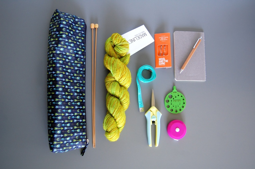 Organizing Knitting Supplies : Organize your knitting supplies with creative options