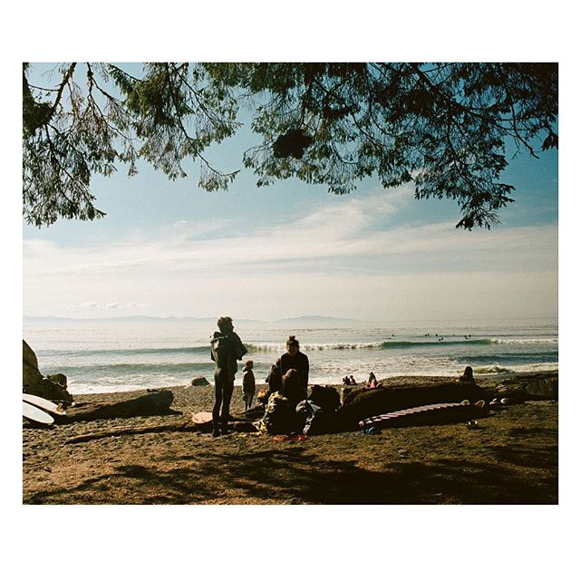 Not a bad start to the winter here on the island . . . . . . #35mm #coldwaterclub #vancouverisland #shootfilm #besiders #sheexplores #anotherescape #freshairclub #alwaysgo #explorebc #lesothers #surfing