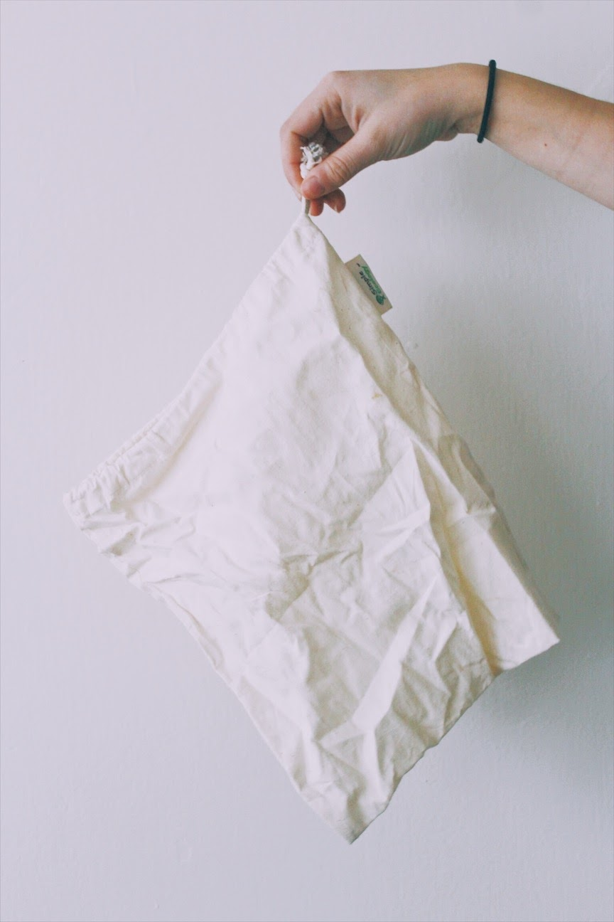 reusable produce bags from Simple Ecology | tintedgreenblog.com