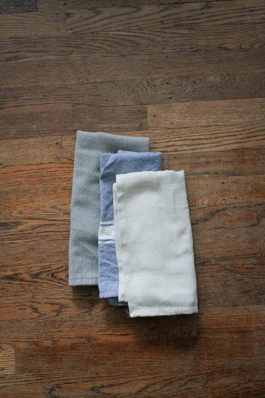 simple swap for eco-friendly living: cloth napkins | tintedgreenblog.com
