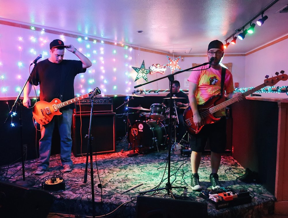 stars of the party playing a show supporting local music and a charity that teaches vets with ptsd how to play rock n roll
