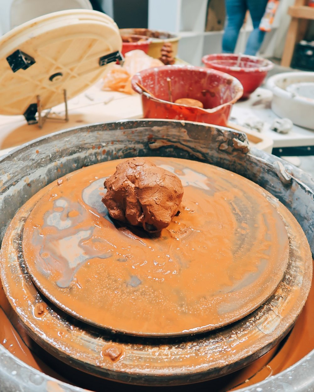 end of a great night learning how to throw clay at sincere ceramics