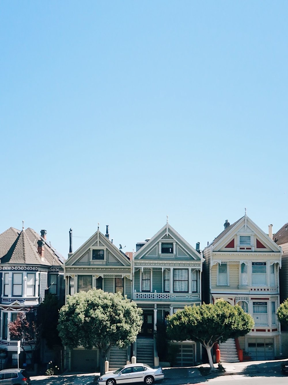 things to do in san francisco with a baby / painted ladies in san francisco