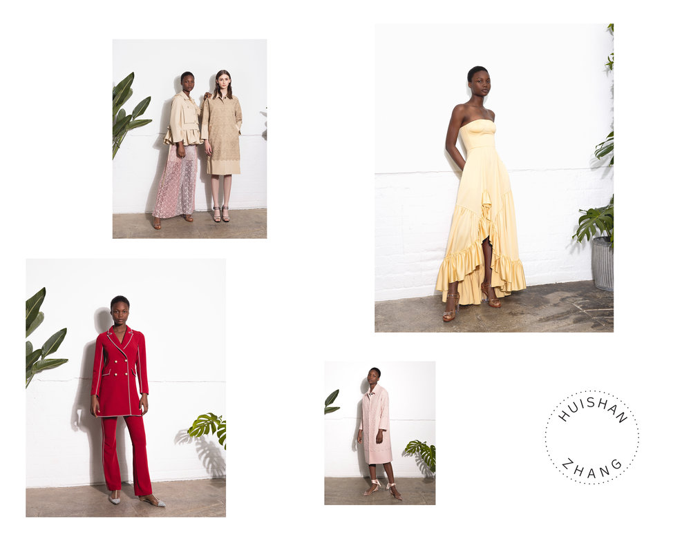 Huishan Zhang RE19 Lookbook